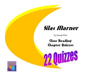 Silas Marner Close Reading Quizzes