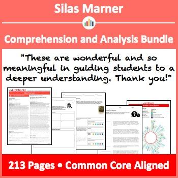 Silas Marner – Comprehension and Analysis Bundle
