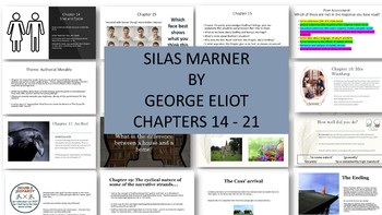 Silas Marner by George Eliot: Teaching Resources for Chapters 14-21