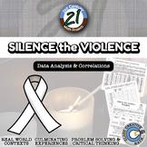 Silence the Violence -- International Data Analysis - 21st Century Math Project