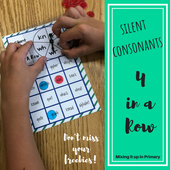 Silent Consonant Activities