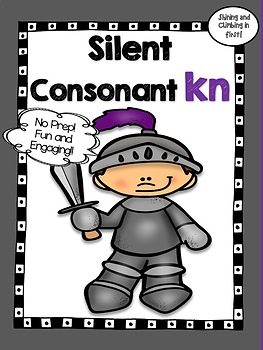 Silent Consonant Kn - Word Work! No Prep!