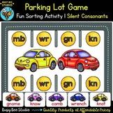 Silent Consonant Parking Lot Game