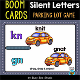 Silent Consonant Parking Lot Game | Boom Cards