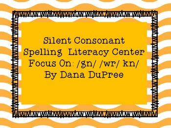 Silent Consonant Spelling Centers