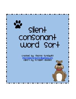 Silent Consonant Word Sort