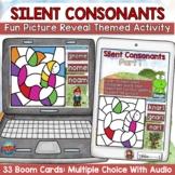 Silent Consonants Boom Digital Cards