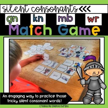 Silent Consonant Match Game