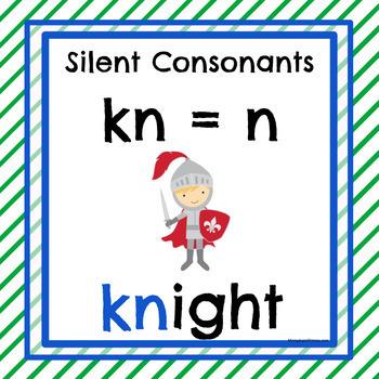 Silent Consonant Posters
