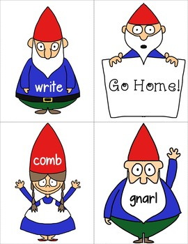 Silent Consonants: Resources, Worksheets and a Game