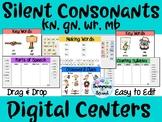 Silent Consonants (kn, gn, mb, wr) Digital Centers