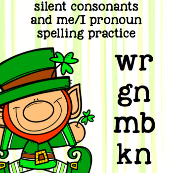 Silent Consonants kn, mb, wr, gn - 2nd Grade Spelling - St. Patrick's Day