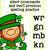 Silent Consonants kn, mb, wr, gn - 2nd Grade Spelling - St