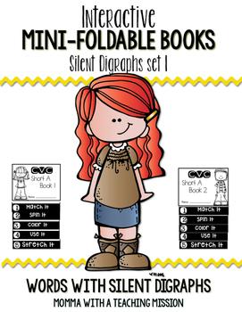 Silent Digraphs Mini Flip Book Foldable