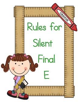 Silent E
