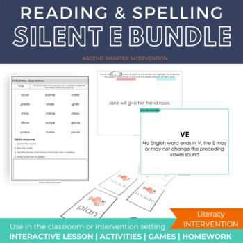 Silent E Activities Bundle