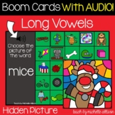 Silent E Activities | Christmas Boom Cards™ | Hidden Picture Puzzles