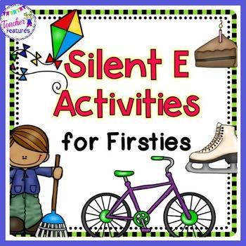 Silent E Activities for First Grade