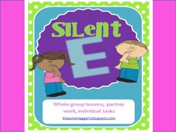 Silent E Packet