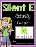 Silent E Activity Cards