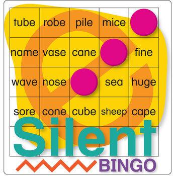 Silent E BINGO