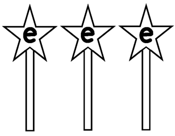 Silent E CVCe Magic Wand Word Building Activity