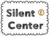 Silent E Center, Folder Game and Bingo Game