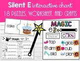 Silent E Chart and Activities (Magic E)