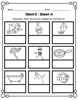 Silent E Clip Game