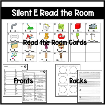 Silent E Differentiated Read the Room
