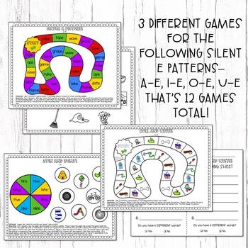 Silent E Games