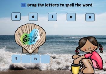 Boom Cards CVCe Kindergarten 1st Grade | Long Vowels Silent E FREE