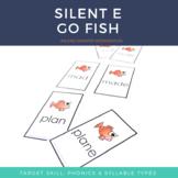 Silent E Game Go Fish
