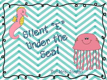 "Silent ""E"" Goes Under the Sea---Revamp"