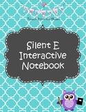 Silent E Interactive Notebook Activities