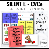 Silent E Learning Phonics Games and Activities