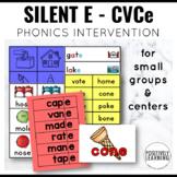 Silent E Activities for CVCe