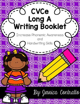 Silent E Long A Writing Book