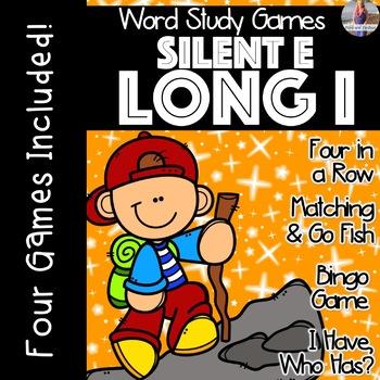 Silent E: Long I [[Word Family GAMES!]]