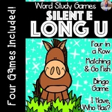 Silent E: Long U [[Word Family GAMES!]]