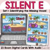 Silent E   Magic E   CVCe Words Digital Boom Cards Summer