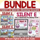 Silent E | Magic E | CVCe Words Digital Boom Cards Bundle