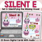 Silent E   Magic E   CVCe Words Digital Boom Cards Unicorn Theme