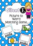 Silent E/ Magic E Matching Activity