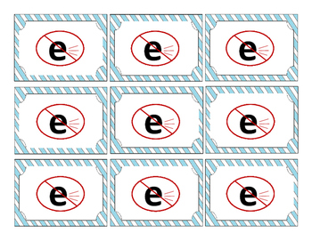 Orton Gillingham Solutions:  Silent-E Game Cards -- Minimal Pairs