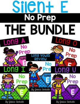 Silent E No Prep Bundle