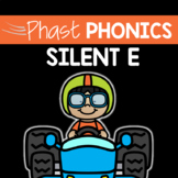 Silent E Phast Phonics Writing Activity: 30 Days of Silent