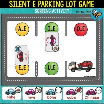 Silent E Sorts   Parking Lot Game