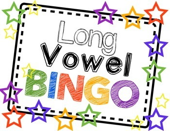Silent E Practice - Long Vowel Bingo Pack