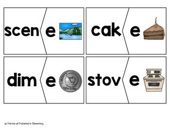 Silent E Puzzles